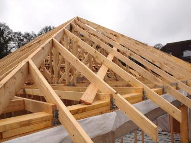 timber wood trusses brandering rafters roofing st
