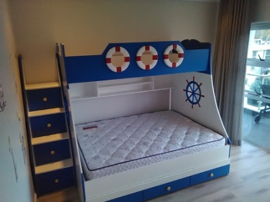 Tri Bunk Bed Boksburg Bedroom Furniture 38027475