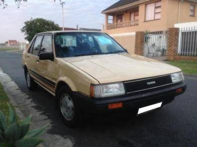 1985 toyota corolla 1 6 gls sprinter for sale toyota 42820917 junk mail classifieds. Black Bedroom Furniture Sets. Home Design Ideas