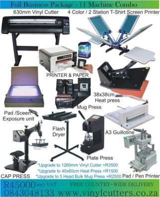 Full Business Package Printing Business Pretoria City