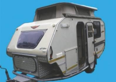 Original Off Road Caravan Hire Rhinomax Scorpion