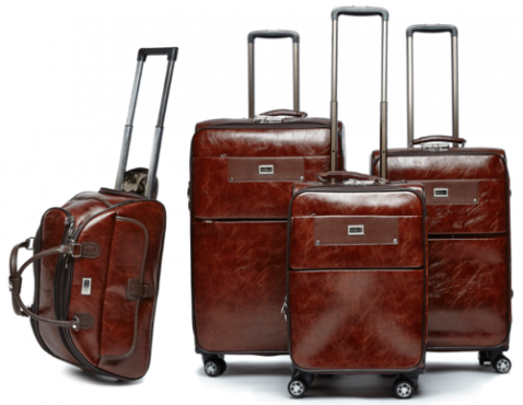 4 Pcs Pu Leather Luggage Set | Sandton | Travel Services ...