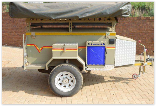 Innovative Trailers  Venter BushBaby Camper Trailer With Tent Was Listed For