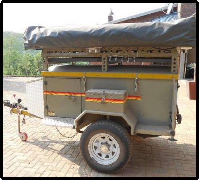 Luxury Venter Camping Trailer For Sale Wierdapark  Olxcoza