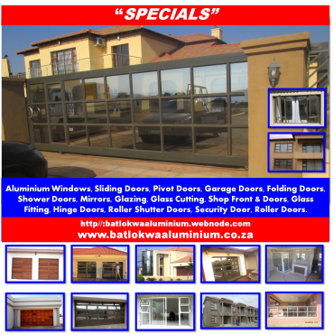 Aluminium garage doors windows sliding doors for Garage door motors prices south africa