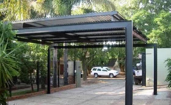 Metal Driveway Carports : Pretoria carports and driveway gates