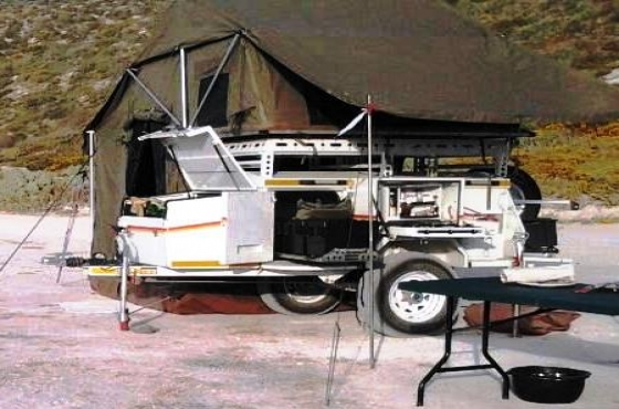 Innovative Archive Mission Jupitor 4x4 Camping Trailer For Sale Cape