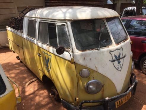 Vw split window crew cab bus splitty 1967 pretoria for 1967 split window vw bus