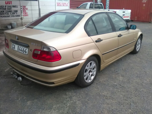 2001 bmw 320d e46 diesel on special sale r49500 bmw 64397552 junk mail classifieds. Black Bedroom Furniture Sets. Home Design Ideas