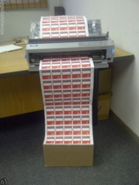 bulk mail machine