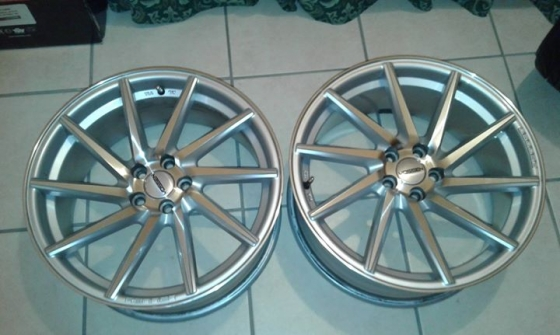 18 vossen wheels for sale tyres and wheels 64172340 junk mail classifieds. Black Bedroom Furniture Sets. Home Design Ideas