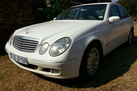 Mercedes benz e class e500 a t pretoria north mercedes for Mercedes benz e class e500