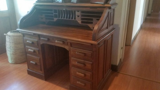 Roll Top Desk For Sale.