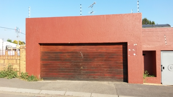Double Meranti Garage Door East Rand Windows And Doors