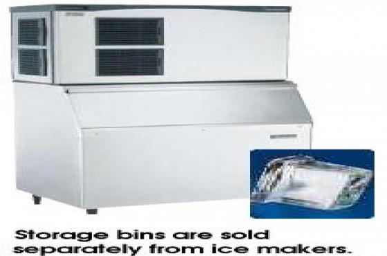 scotsman machine bins