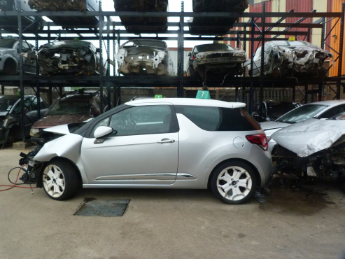 citroen ds3 2015 stripping for parts car spares