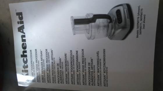 Kitchen aid artisan food processor somerset west other for Kitchen appliances cape town