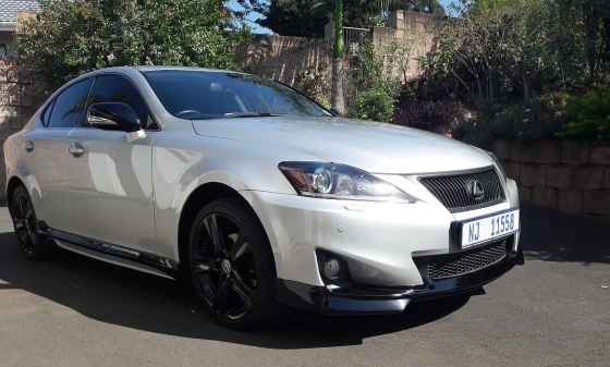 bargain 2011 lexus is250 se a t sport with isf body kit umhlanga lexus 64680760 junk. Black Bedroom Furniture Sets. Home Design Ideas