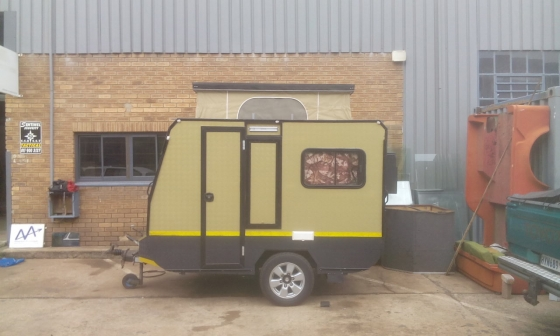 Excellent Off Roader Camping Trailer Tent Setup And On Display
