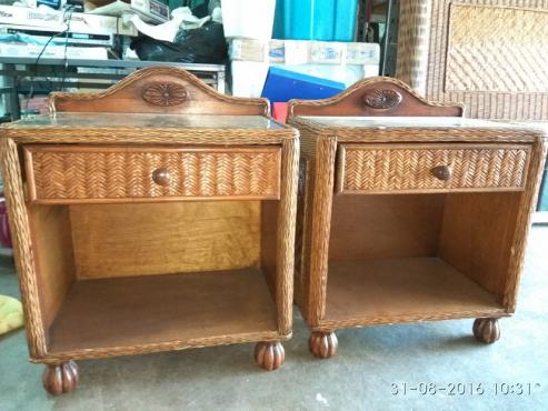 Mahogany and wicker bedroom suite sandton bedroom for Bedroom furniture johannesburg