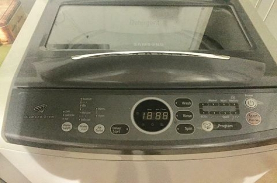 samsung 13kg top loader washing machine for sale