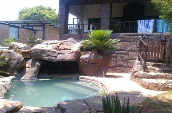 Pools rockart pool cleaning rock pools water features koi for Koi ponds durban