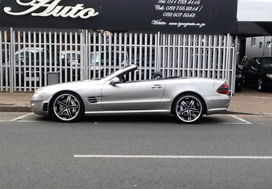 Mercedes benz sl500 with sl65 amg black series kit only for Mercedes benz 700 series price