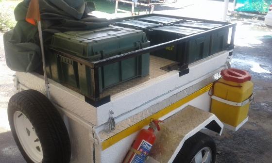 Model Extreme Camping Trailer For Sale  Centurion  Caravans And Campers