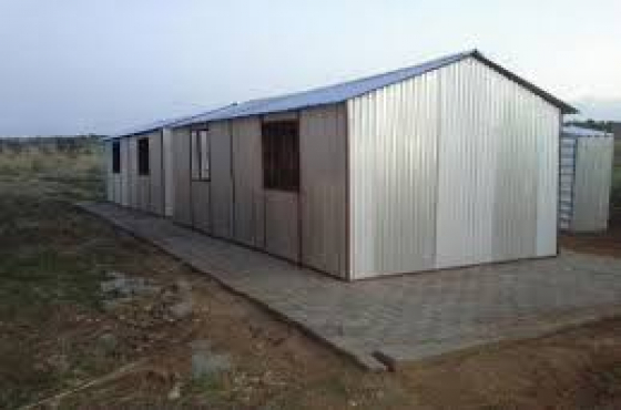 Storage houses centurion 0629424548 steel sheds centurion for Storage huts for garden