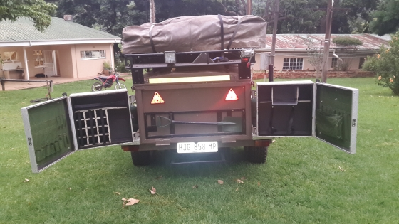 Wonderful Camping Trailer  Afrispoor Mongoose Offroad