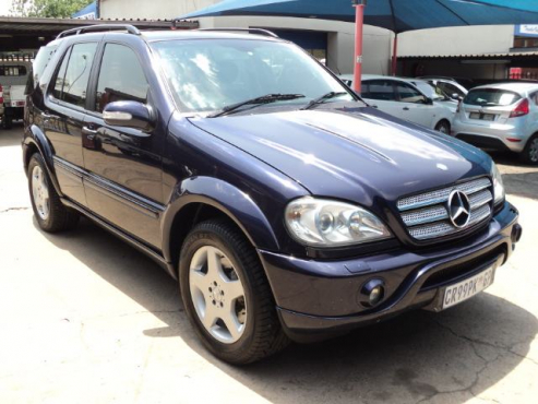 Mercedes benz ml55 amg f l 2004 brakpan mercedes benz for Mercedes benz ml55 amg