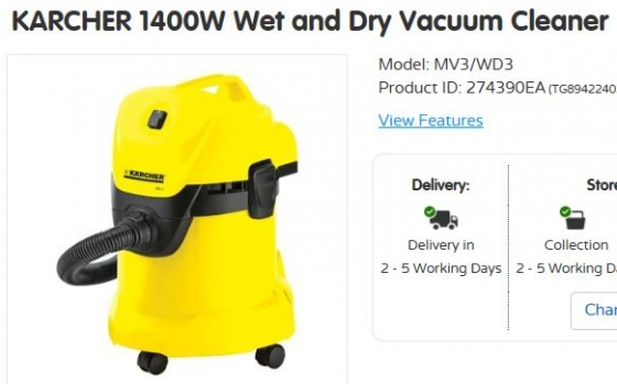 Brand New Karcher Vacuum Cleaner Randburg Carpet And