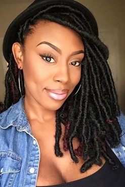Faux Dreads Wigs Weaves Dreads Extensions Dry Curl