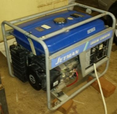 Jetman Generator 6.0Kw Honda Engine Electric Start   Centurion   Machinery and Tools   64846352 ...