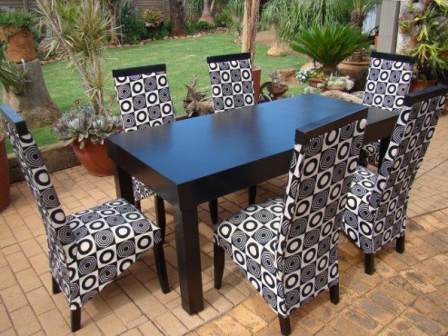 dining room table with six chairs pretoria east diningroom