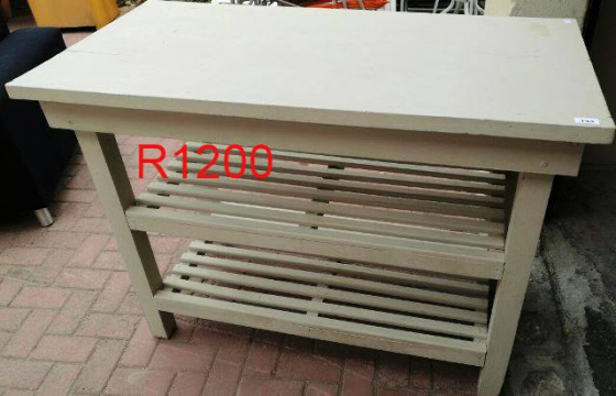 Kitchen island work table kitchen furniture 64966402 for Kitchen island gauteng