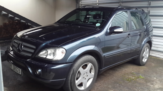2002 mercedes benz ml 55 amg german mussel somerset for Mercedes benz ml 55