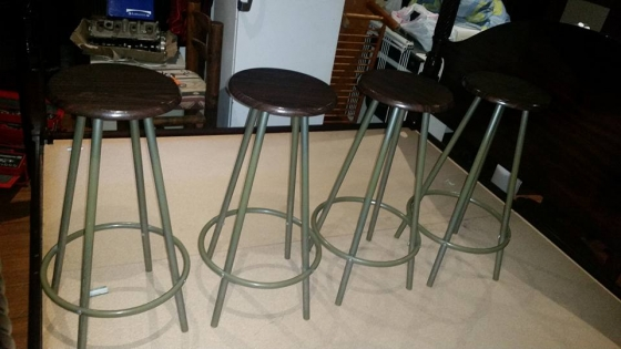 4 x bar kitchen counter chairs kitchen furniture for Kitchen tables cape town