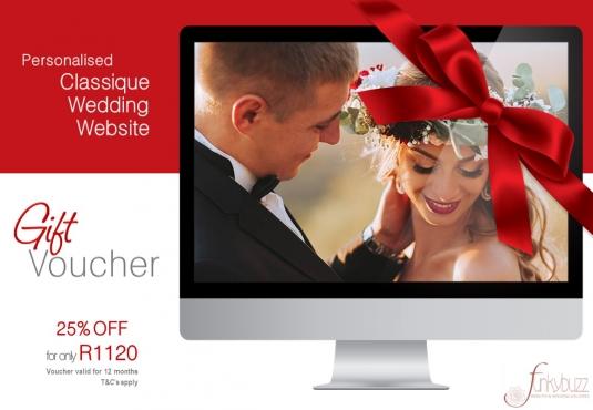 Honeymoon Vouchers As Wedding Gifts: Gift Voucher - Wedding Website