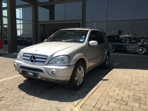 2003 mercedes benz ml 55 amg pretoria east mercedes for Mercedes benz ml 55