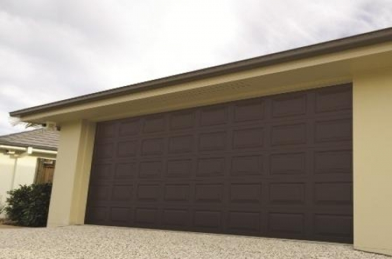 Double Sectional Garage Doors Buffalo Brown Windows
