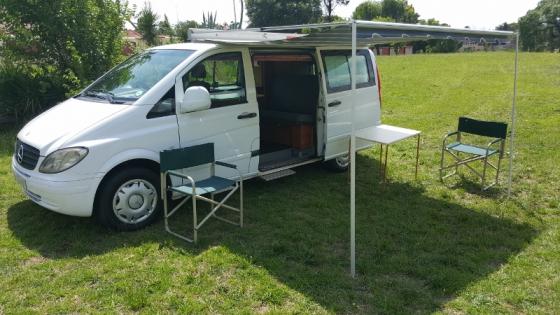 mercedes benz vito 115 cdi motorhome camper south rand. Black Bedroom Furniture Sets. Home Design Ideas