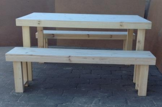 Patio Table Farmhouse Series 1400 bo Raw Brakpan Garden furniture