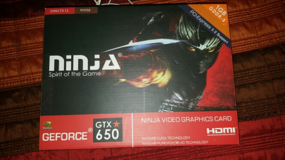 Nvidia GeForce GTX 650 Graphics Card