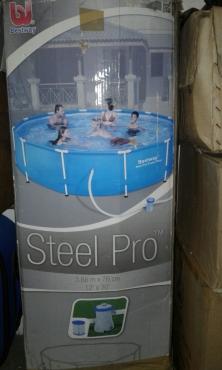 Bestway steel pro pool for sale northern suburbs pools for Bestway pools for sale