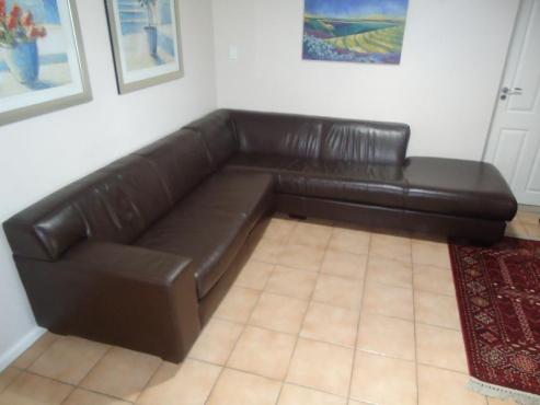 Brown Corner Couch Milnerton Lounge Furniture