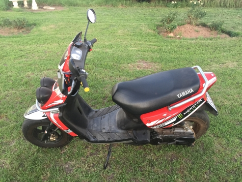 Yamaha bw 100 scooter roodeplaat motorcycling and for Yamaha bws 100 for sale