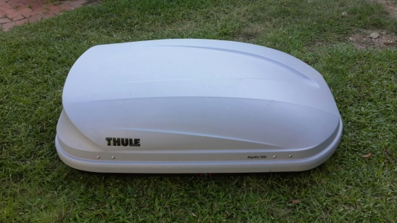thule pacific 100 roof box camping 61888350 junk. Black Bedroom Furniture Sets. Home Design Ideas
