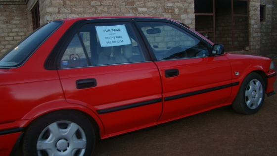 toyota corolla twincam gli 1 6 16v with a 4age engine for sale hammanskraal toyota. Black Bedroom Furniture Sets. Home Design Ideas