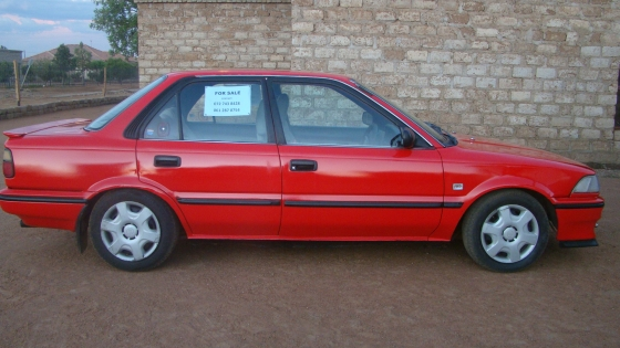 Toyota Corolla Twincam Gli 1 6 16v With A 4age Engine For